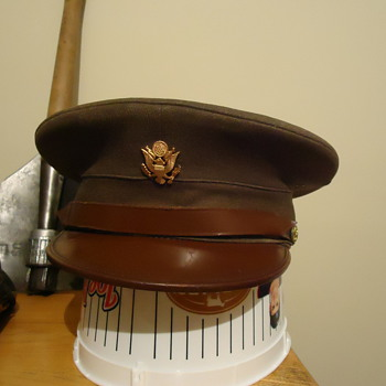 WWII US Army enlisted mans hat?