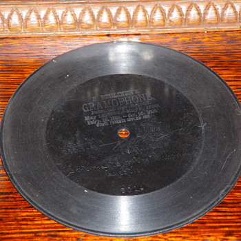 Berliner record, William Cody, 20th April 1898 - Records