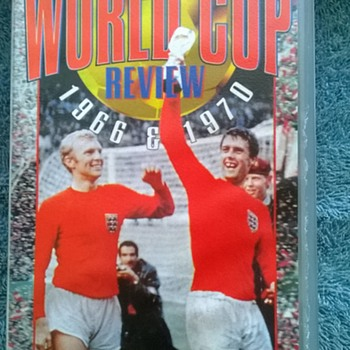1966-the world cup-vhs video cassette. - Football