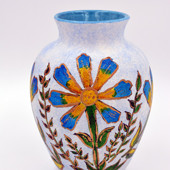Hand Painted Little Vase