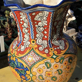 Talavera Vase - Art Pottery