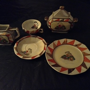 1920's my grandmothers tea set