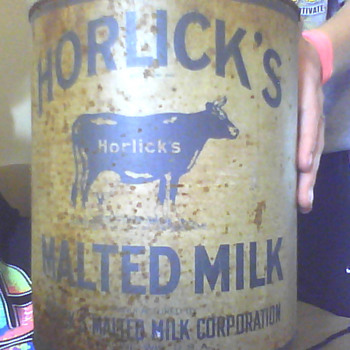 Horlick&#039;s malted milk can love it but was wondering a round about value onit... - Advertising