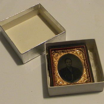 Cased Tintype of Thomas Alvis