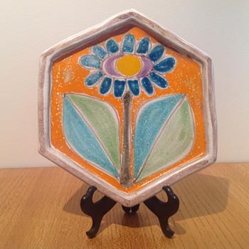 DESIMONE TILE / TRIVET - Pottery