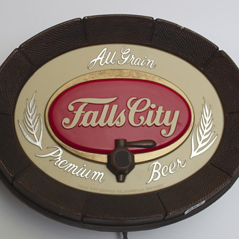 Falls City Brewing Company Lighted Promo Sign