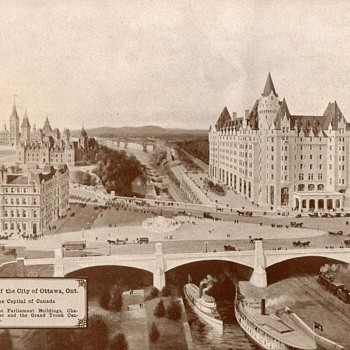 City of Ottawa, Ontario - Circa 1917