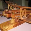 Model wooden plane