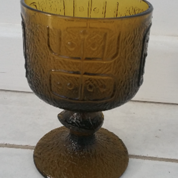 Help! - Identifying this Green Bark Textured Goblet
