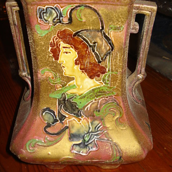 Thomas Forester & Sons Art Nouveau Majolica Vase?