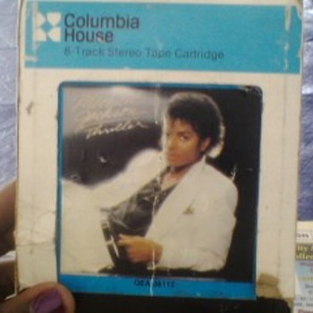 MICHAEL JACKSON 8 TRACK  - Music