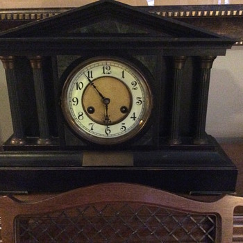 2 antique clocks