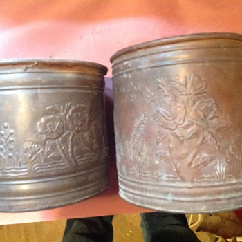 Brass pots I think