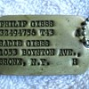 Dad's WWII Dog Tags & Mom's Citizenship & Air Raid Protection Booklets