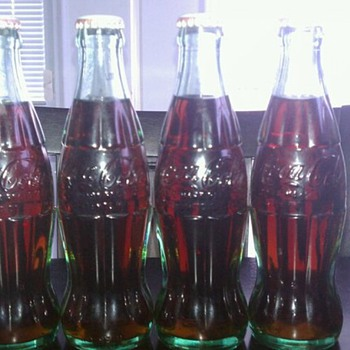 1923 december 25 coca cola bottles never opened!!!!!!!!  - Coca-Cola