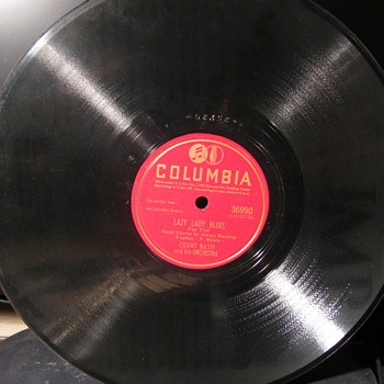 Blues Legend and Three Country Legends 78s - Records