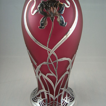 Possible Loetz in Rosalin? - Art Nouveau