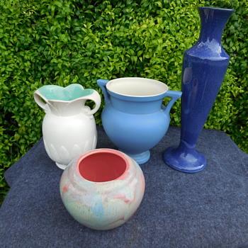 American Art Pottery Vases - Pottery