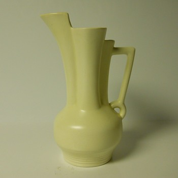 Yard Sales Find 4 of 10, Art Deco Beswick Pitcher Vase, Circa 1935-40 - Art Pottery