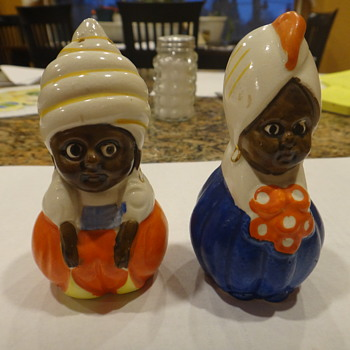 Salt & pepper shakers - Arabian?  - Kitchen