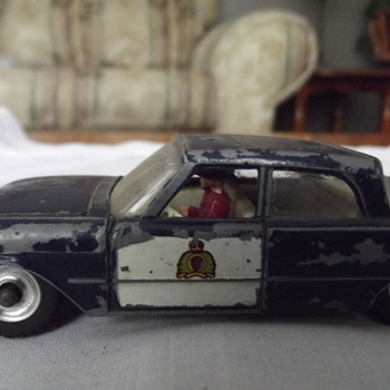 RCMP Car..Dinky toys