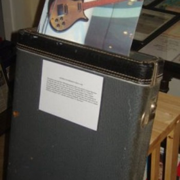 George Harrison&#039;s used guitar case...