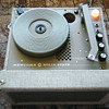 Vintage School record player
