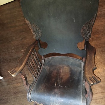 Can anyone tell me about this rocking chair?