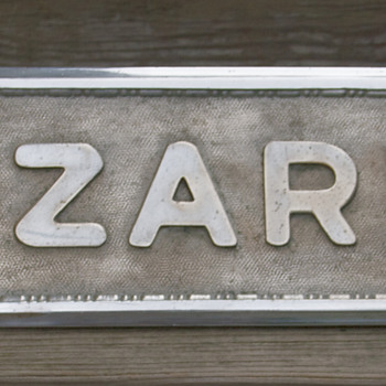 Lazarus Department Store, Wilkes-Barre, PA, Window Display Sign