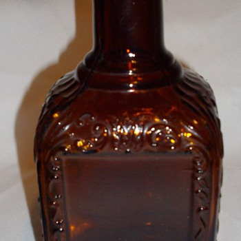 Dark Amber bottle, repro or original? - Bottles