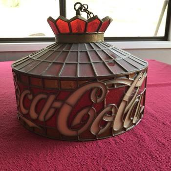 Working Coca Cola light  - Lamps