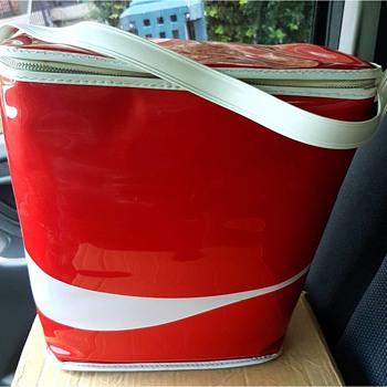 1970 brand new in box Coca Cola carry cooler - Coca-Cola