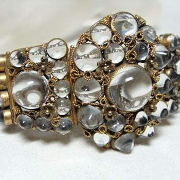 Chinese ? Rock Crystal Bracelet - Fine Jewelry