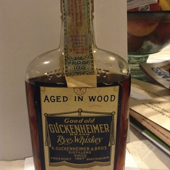 Some very vintage liquor - Bottles