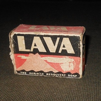 Vintage Lava Soap In Box With Instructions