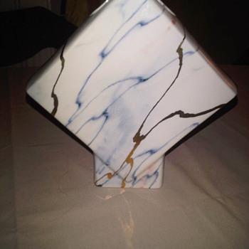 Promenade Pottery Brighton art deco vase 1960-70s - Art Pottery