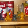 Winnie the Pooh Spoon Sitters Nabisco Cereal Premiums