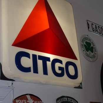 Citgo gas sign