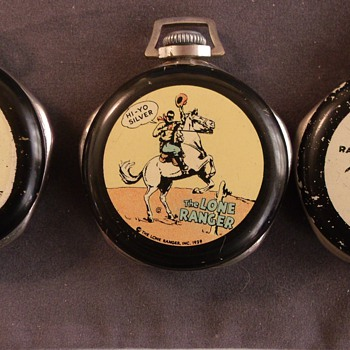 Hi Ho Silver.. Away Lone Ranger Pocket Watches