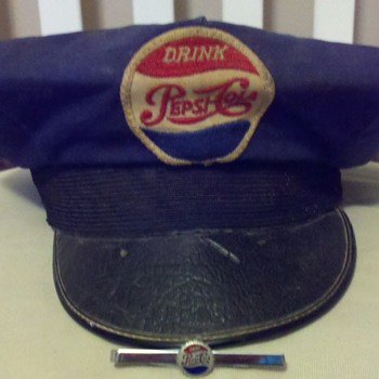 Pepsi Driver&#039;s Hat &amp; Tie Pin