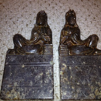 I would love to find out what these statues are representing. Thanks! - Asian