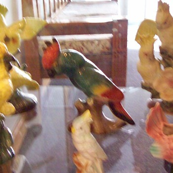 My Bird Figurine Collection - Pottery