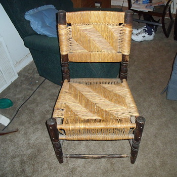 This old chair!