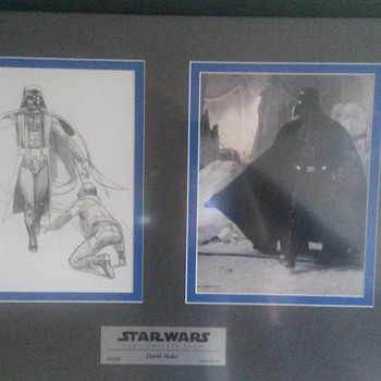 Framed limited art by Ralph McQuarrie - Movies