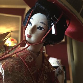 Fujimusume Geisha Doll