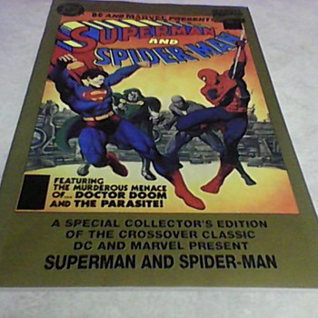 1995 SPECIAL COLLECTOR'S EDITION OF CROSSOVER COMIC BOOKS - Comic Books