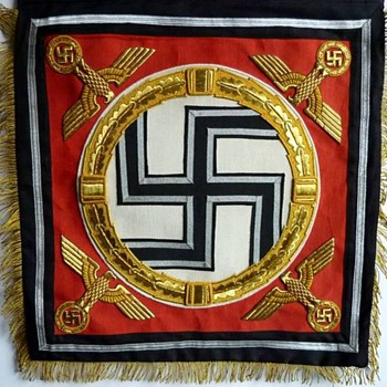"Standard of the 1st SS Panzer Division ""Adolf Hitler"" - Military and Wartime"
