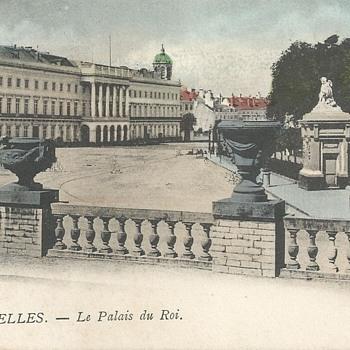 BRUXELLES - LE PALAIS DU ROI.