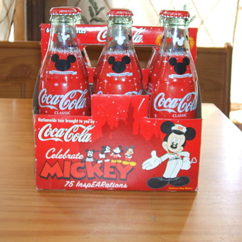 75th anniversary Mickey and Coke
