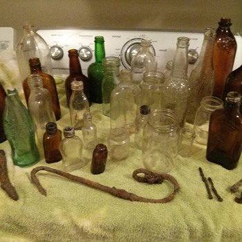 Question about some old bottles I just found!